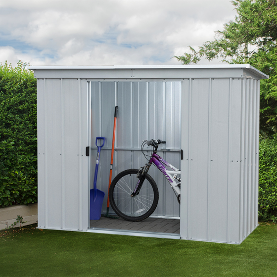 store all bike shed pz 6x4. Black Bedroom Furniture Sets. Home Design Ideas
