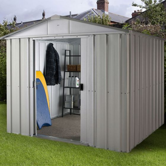8x10 Metal Shed >> Store All Apex Metal Shed Zgey 8x10