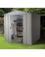 Store All Apex Metal Shed ZGEY 6x5