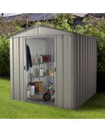 Store All Apex Metal Shed ZGEY 6x8