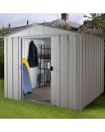 Store All Apex Metal Shed ZGEY 8x10