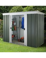 Emerald Pent Metal Shed GPZ 6x4