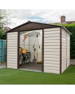 Shiplap Metal Shed TBSL 10x6