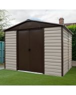 Shiplap Metal Shed TBSL 8x6