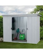 Store All Pent Metal Shed PZ 6x4