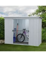 Store All Pent Metal Shed PZ 8x4