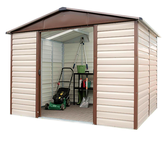 Yardmaster metal garden storage unit instructions garden and modern house image dnauranai com for Ix center home and garden show 2017